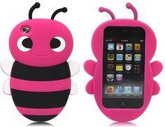 I want it sooo bad.............. Hot Pink 3d Cute Cartoon Bee
