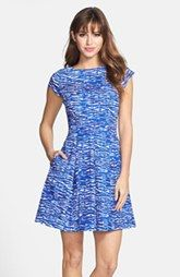 Cheap FELICITY COCO Print Cotton Fit Flare Dress Nordstrom Exclusive Ads Revise