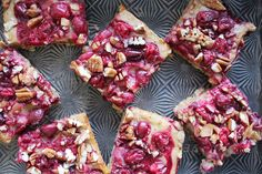 Cranberry Pecan Oat Coconut Chip Bars – SIMPLY BEAUTIFUL EATING