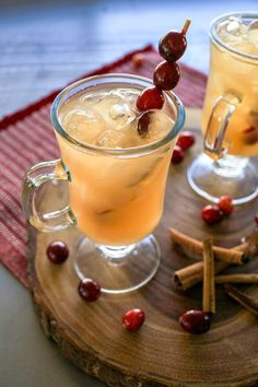 Chilled Christmas Punch Recipe