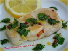 Buondì! Oggi voglio suggerire un secondo piatto di mare molto semplice e gustoso: ilfiletto di merluzzo al limone e pepe rosa! Una vera prelibatezza, faci