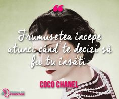 Coco Chanel, Quotes, Movie Posters, Movies, Quotations, Films, Film Poster, Cinema, Movie