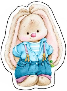 Скрапбукинг, рукоделие | VK Tatty Teddy, Cute Images, Cute Pictures, Lapin Art, Easter Bunny Pictures, Simple Poster, First Birthday Photos, Bunny Art
