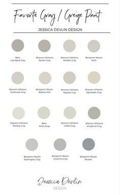 interior paint colors, neutral, gray paint, greige paint color, my favorite grey and greige paint colors.