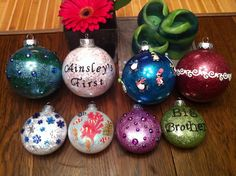 Home made ornaments