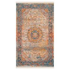 The Safavieh Patricia Area Rug is a great choice for high traffic areas. The indoor area rug is hand woven with a low pile, making it easy to vacuum. The natural fiber throw rug in warm tones works well under a kitchen table or in a mud room to protect your floors and soften your step.