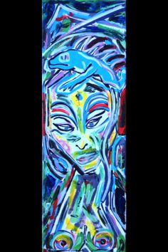 'Madame Butterfly & Blue Iguana' 2015