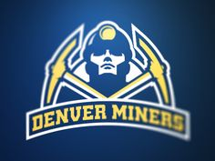 A11FL Denver Miners on Behance - American Logo Sport Theme