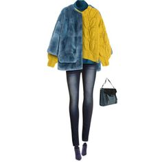 Layering with Sweater and Fur by yasminasdream on Polyvore