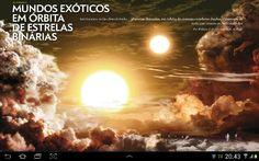 Extrasolar planet with binary suns.