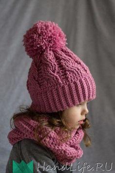 Детская шапочка / Вязание