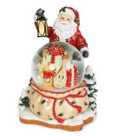 Take a look at this Yuletide Traditions Santa Water Globe by Fitz and Floyd on #zulily today!