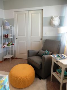 Floor Instead Of Ottoman Modern Nurseries Nursery Babies Rooms