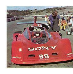 Patrick Gaillard - Schkee Chevrolet - Tom Spalding - Sprite Bottlers Monterey Grand Prix Laguna Seca - SCCA Citicorp Can-Am Challenge, round 9
