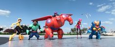 The Team Comes Together in a New 'Big Hero 6′ Sizzle Trailer From New York Comic Con 2014