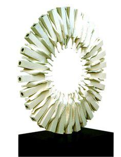 Kemal ULUDAĞ, 2000, Wheel - Çark, Ø 90 cm. Stoneware-1200 °C