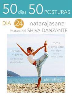 ૐ YOGA ૐ ૐ ASANAS ૐ ૐ Natarajasana ૐ  50 días 50 posturas. Dia 24. Postura del Shiva Danzante