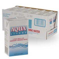 Aqua Literz® 5 Year Water Storage - 12 Pack