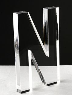 Acrylic Letter N by Zentique at Gilt
