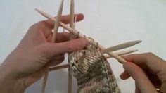 Kössünk! - Zoknikötés 5/3: a sarok (2.rész) Facebook, Knitting, Crochet, Diy, Tricot, Bricolage, Breien, Stricken, Ganchillo