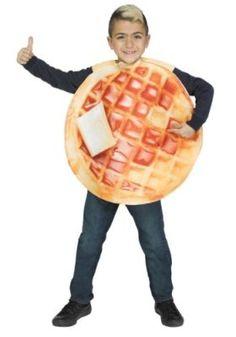 Stranger Things Waffle Costume Ideas - Best Costumes   #StrangerThings #StrangerThingsCostume #HalloweenCostumes #ElevenCostumes #Eleven #Demogorgon #StarCourtMall #Wafflecostumes #KidsCostumes