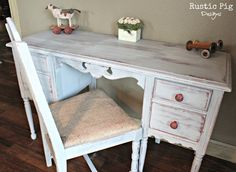 The Golden Sycamore - Guest Post: The Rustic Pig - Updated Antique Vanities