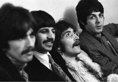 The art of The Beatles. | George out of focus, Ringo smiling, John off his head and Paul looking at the camera. Bingo.