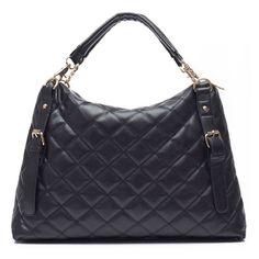 Trendy Hot Sale Plicated Large Capacity Women PU Messenger Bags