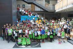 Nieder-Olm: Mini.Festival.Blog. #01: Wo 220 Kinder Basketbälle fliegen lassen…