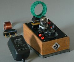 Ribbeck MW-KW-Röhren-Audion hoher Güte mit Akkus | eBay