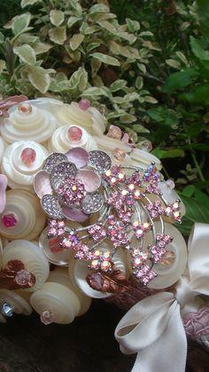 A button bouquet