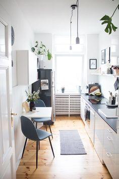 K chen-Update Unsere neue Sitzecke - pretty nice Updated Kitchen, New Kitchen, Kitchen Decor, Kitchen Seating, Kitchen Ideas, Narrow Kitchen, Kitchen Small, Kitchen Furniture, Home Furniture