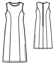 Free Pattern: Home / Women / Dresses / #5131 Long silk dress