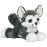 Blue Dreamy-Eyed Siberian Husky - Set Of 2