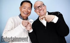 Bill Weber and George Takei, To Be Takei