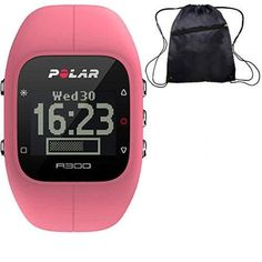 Polar - A300 Fitness and Activity Monitor w o HR with Bag - Pink ** Click image to review more details.