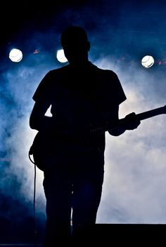 guitarist, shadow
