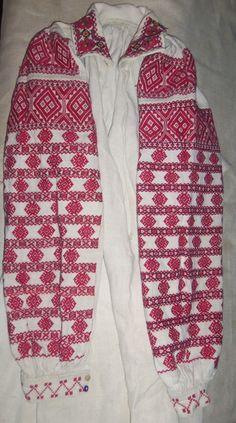 Ukraine - single colour embroidery is so striking