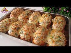 Veľmi ľahké! Veľmi Jemné, jemné ako bavlna. Plnenie šišky / fašírky. - YouTube Beignets, Carne, Vegetarian Recipes, Healthy Recipes, Relleno, Donuts, Muffin, Treats, Snacks
