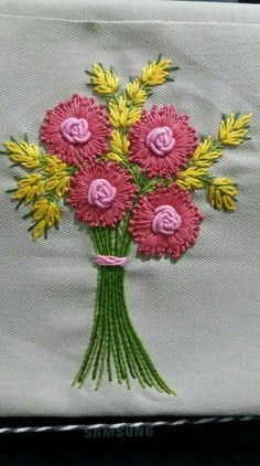Sewing Embroidery Designs At Home Is Real Fun. Embroidery Patterns - Embroidery Patterns And Ideas At Your Fingertips! brazilian embroidery for beginners how to do brazilian embroidery stitches Embroidery Neck Designs, Hand Embroidery Flowers, Silk Ribbon Embroidery, Embroidery Kits, Machine Embroidery, Embroidery Supplies, Brazilian Embroidery Stitches, Hand Embroidery Stitches, Embroidery Techniques