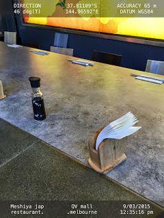 Y not chop sticks in a holder at tis restaurant   Chopsticks Food-And-Drinks Ideas Paper-Napkins