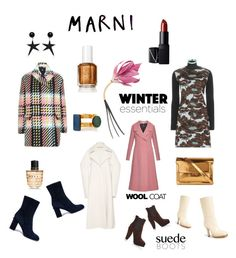 """""""WINTER ESSENTIALS: MARNI"""" by valentinafrancesca ❤ liked on Polyvore featuring Marni, NARS Cosmetics, modern, more, NARS, marni and winteressentials"""