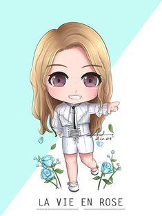 Japanese Girl Group, Fan Art, Korean Artist, Kpop Fanart, Aesthetic Stickers, Doraemon, The Wiz, My Idol, Chibi