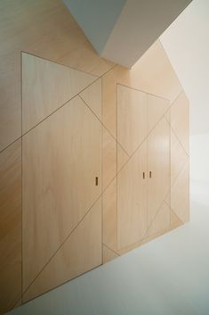 Flush doors everywhere.  Space-Saving Solutions: 33 Creative Storage Ideas,© Takumi Ota