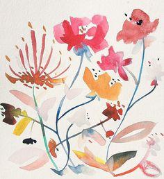 Anthology Magazine | Artwork | Watercolors by Kiana Mosley
