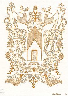 Julia Rothman Letterpress Print | Little Paper Planes
