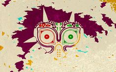 Zelda Majora's Mask Wallpaper by CHDesignsStudio on Etsy