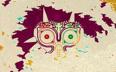 Zelda Majora's Mask Wallpaper by CHDesignsStudio on Etsy
