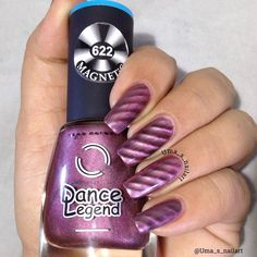 Dance Legend Magnetic Polishes 622 and 623 Review and Swatches... | Uma's Nail Art | Bloglovin'