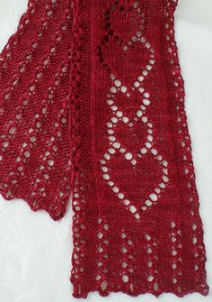 Thinking of You Scarf by JackieES | Knitting Pattern